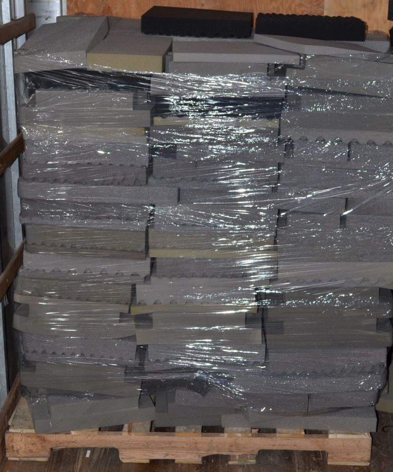 Pallet 48x40x60 various polyurethane packing foam sheets for Soft foam sheets craft