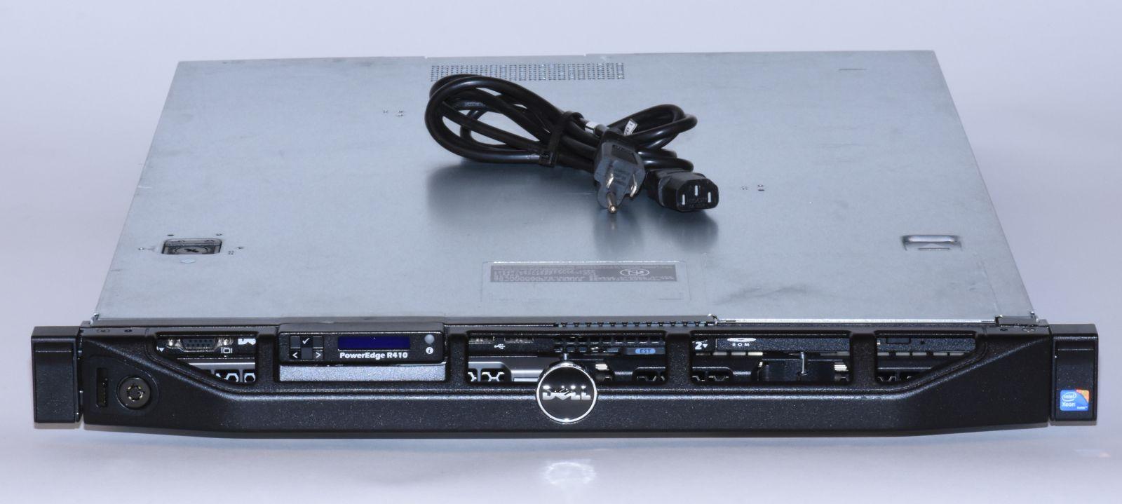 dell poweredge r410 1x intel xeon e5640 2 66ghz quad core